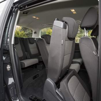 Volkswagen Sharan back row car seats