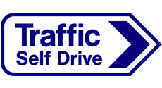 Traffic Self Drive Logo