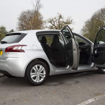 Peugeot 308 side view