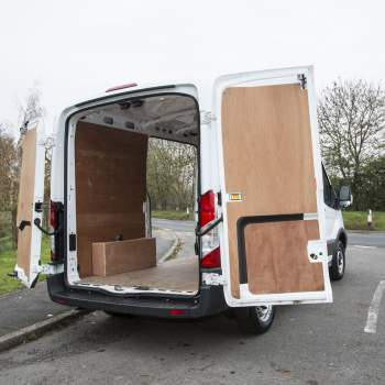 Ford Transit back