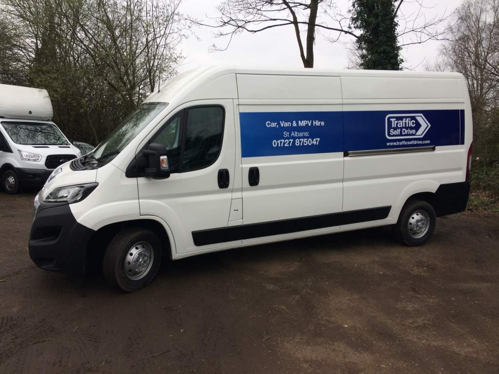 A Traffic Self Drive Long Wheel Base Van